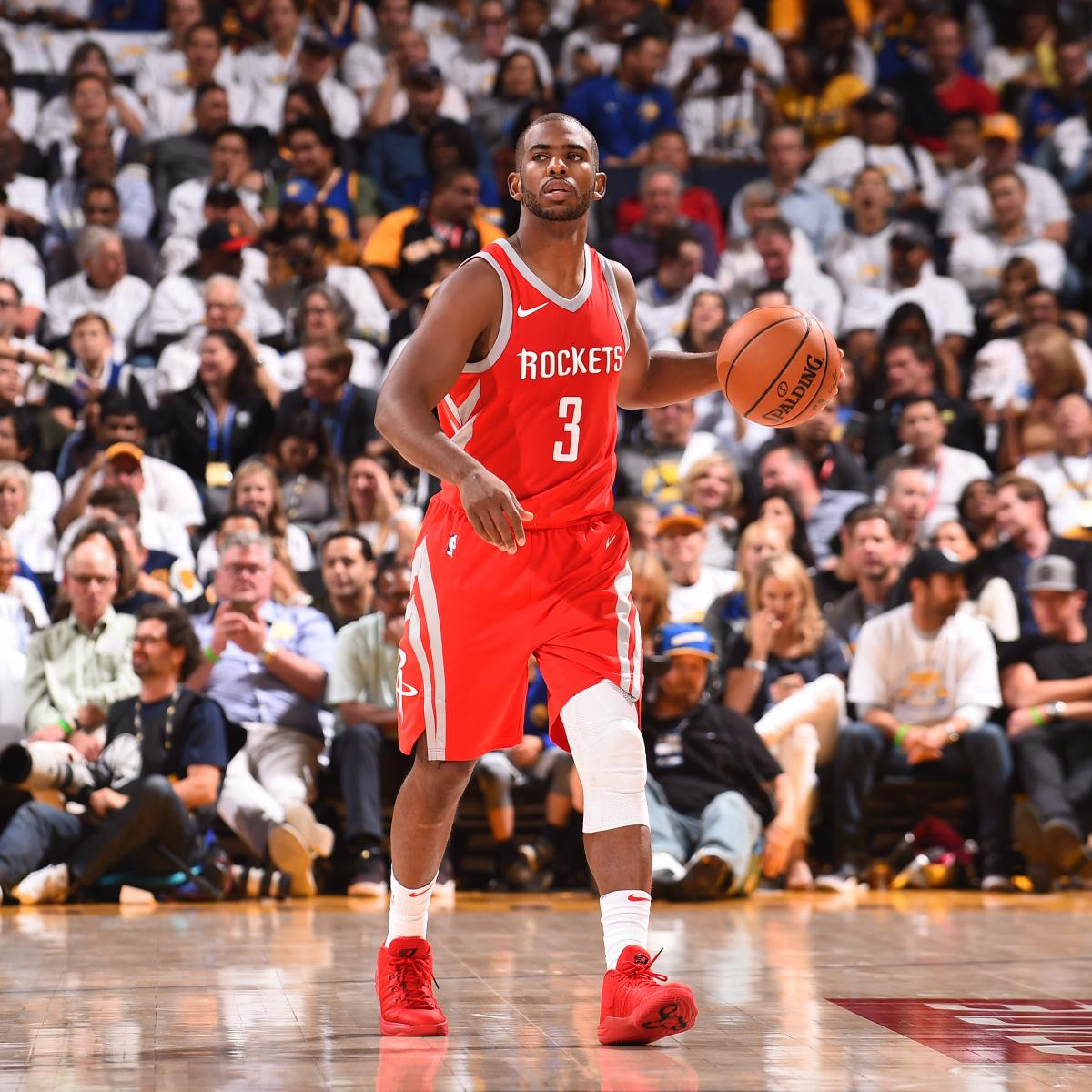 Rockets Vs Warriors Head To Head This Season: Chris Paul Ruled Out Vs. Lakers With Adductor Injury