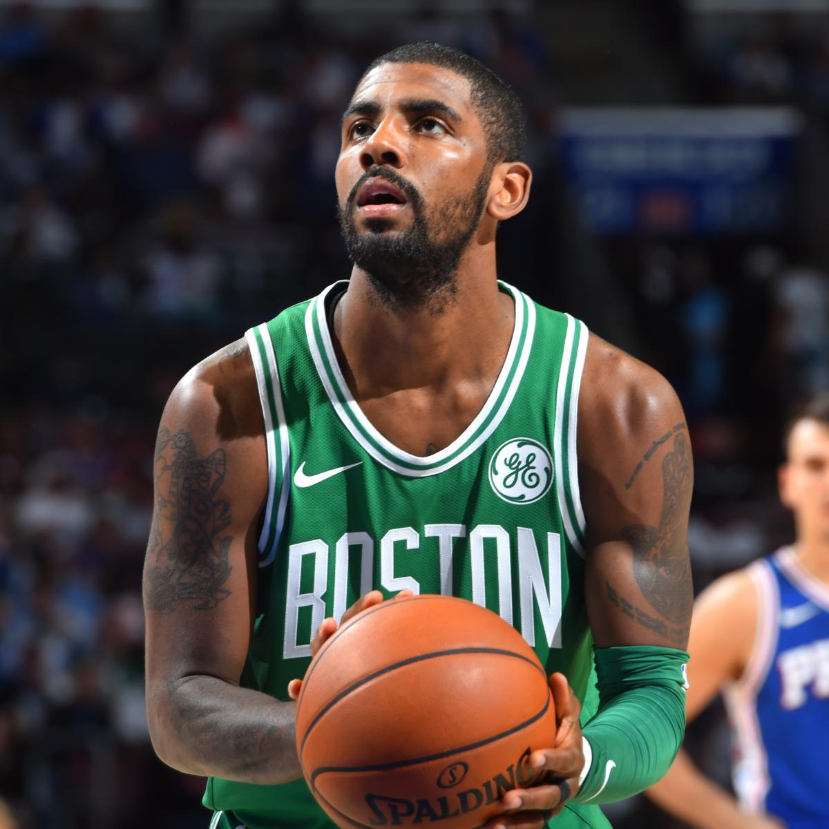 Kyrie Irving on If He Regrets Making Profane Comments Towards Fan: 'Hell No'