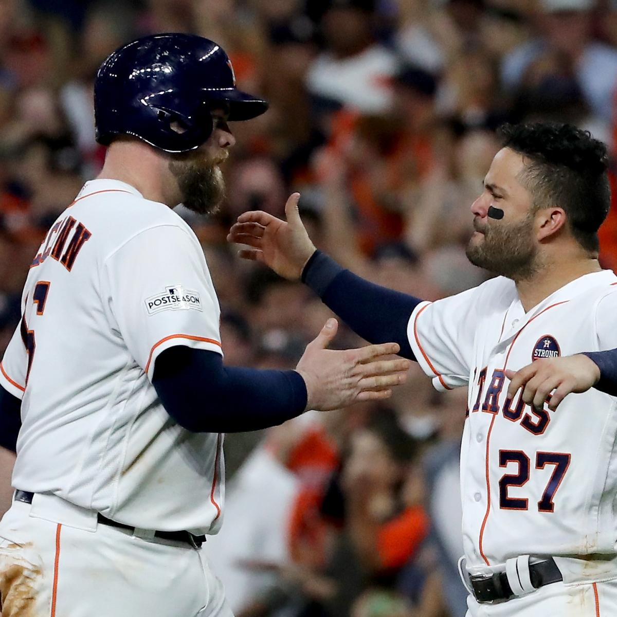 Jose Altuve, Astros Advance to World Series with ALCS Game 7 Win vs. Yankees