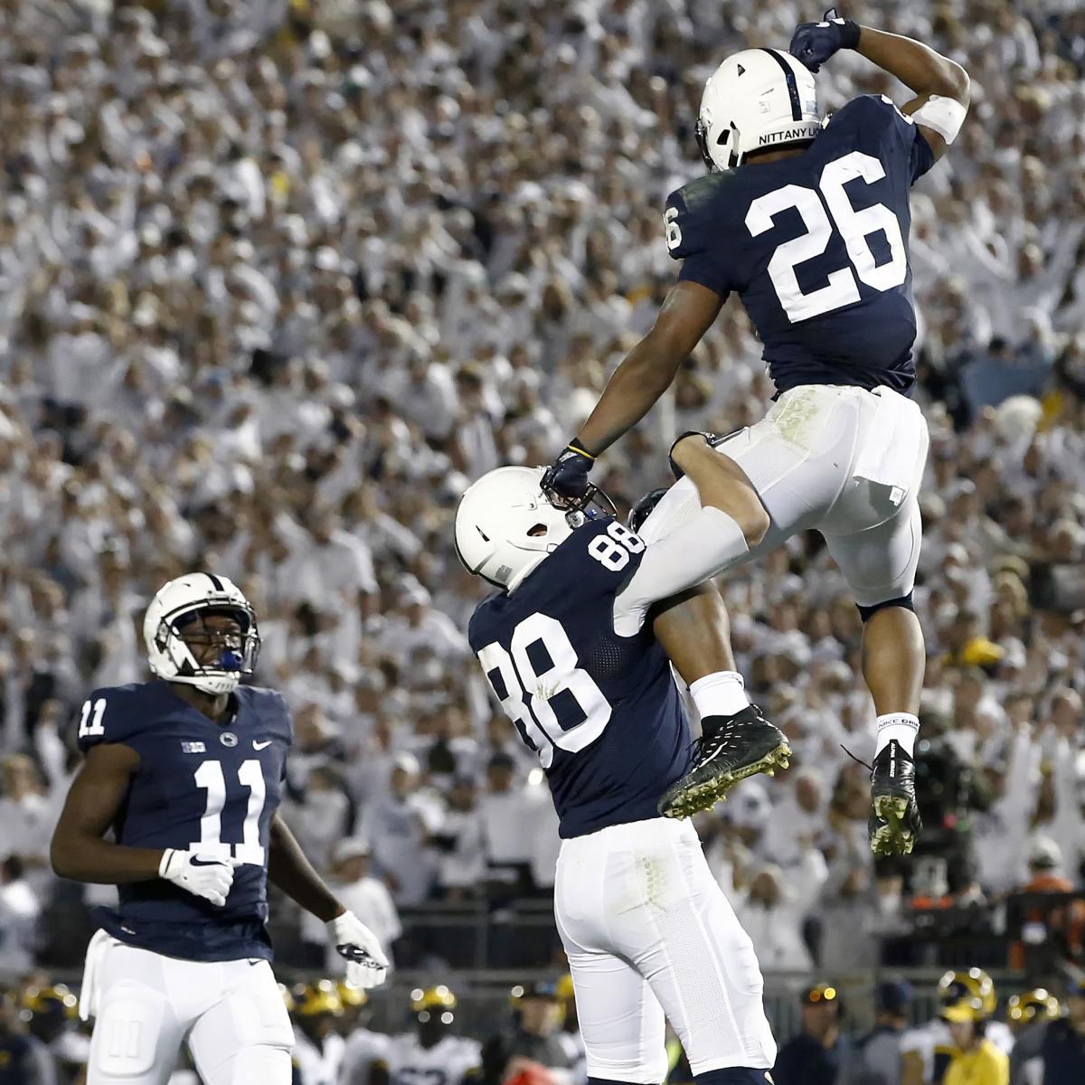 AP College Football Poll 2017: Week 9 Top 25 Rankings Announced