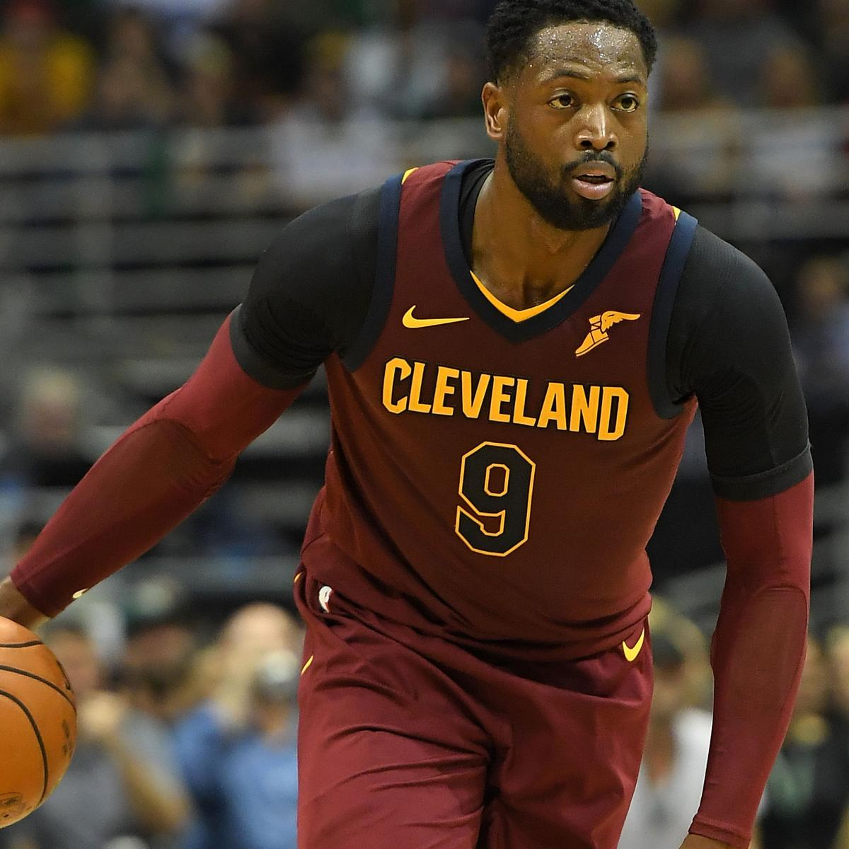 best website 23e22 7e7e3 Dwyane Wade to Come off Bench for Cavaliers, JR Smith to ...