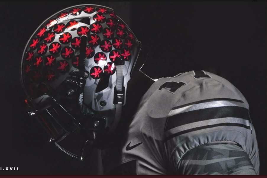 16c7db43f044 Ohio State Will Wear Gray Uniforms and Custom LeBron James Cleats vs. Penn  State