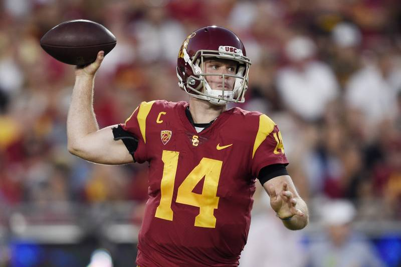 Sam Darnold Reportedly Unlikely To Leave Usc For 2018 Nfl