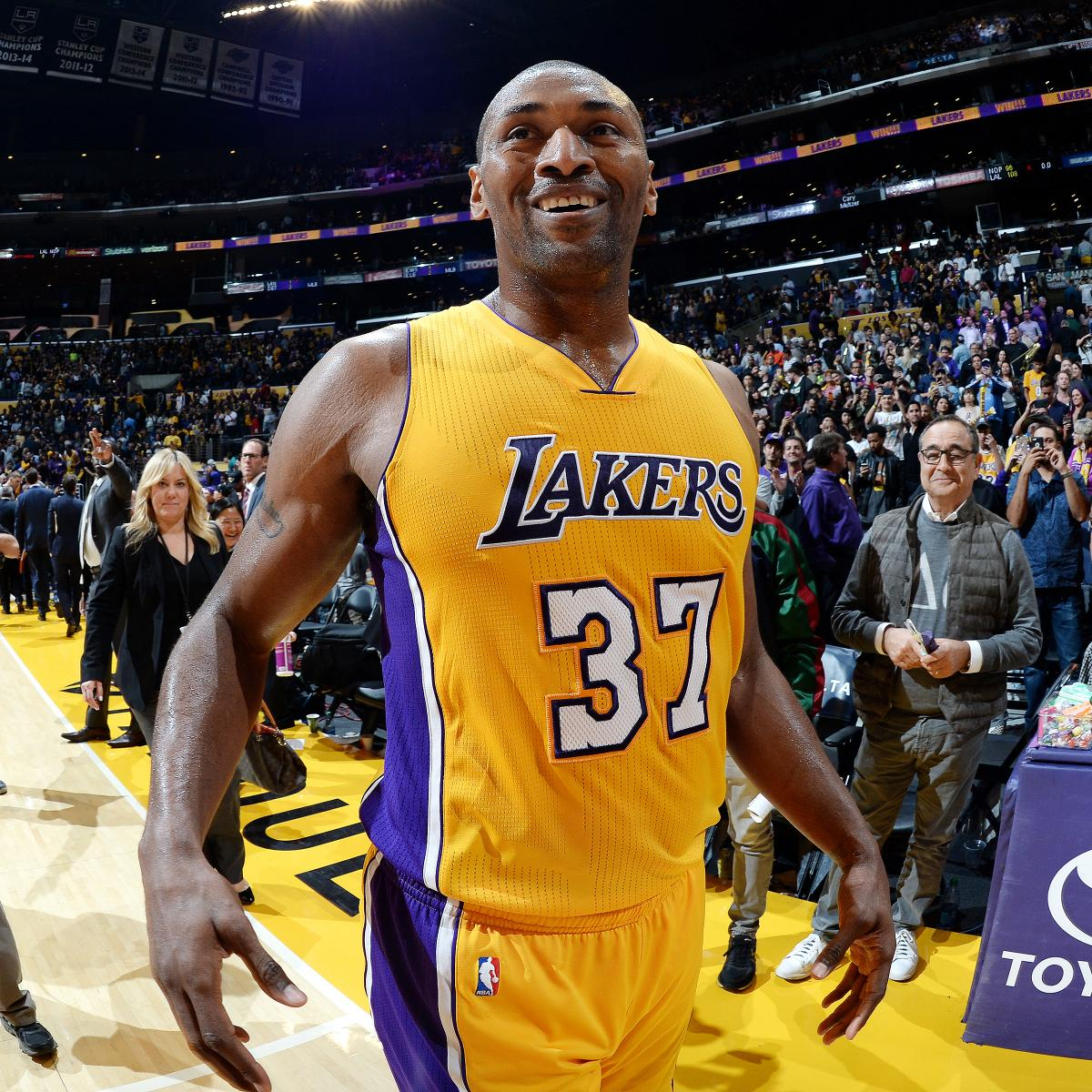 93f896be0 Metta World Peace Hired as Coach for LA s G League Team