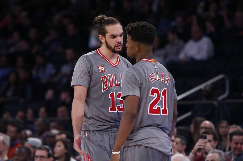 official photos 195f5 17474 Jimmy Butler, Joakim Noah Reportedly Had Several Arguments ...