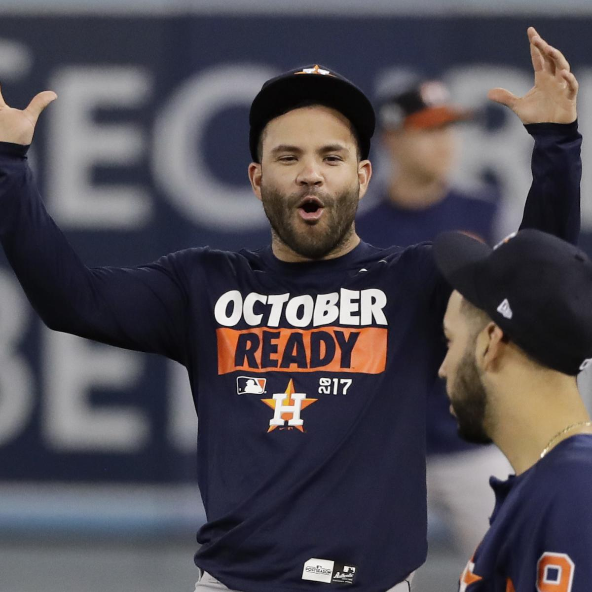 Jose Altuve Wins 2017 AL MVP Award