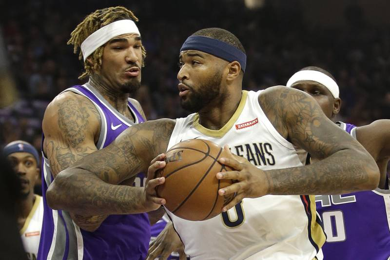 DeMarcus Cousins Goes Off for 41 Points, 23 Rebounds vs