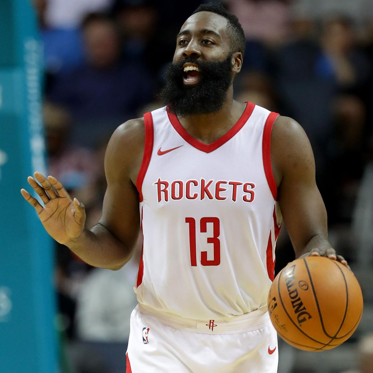 James Harden Nba Records: James Harden Records 1st Triple-Double Of The 2017-18
