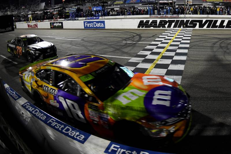 Nascar Monster Cup 2017 Playoff Standings Schedule Post