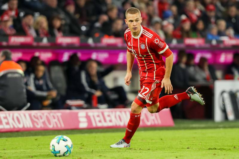 Bayern Munich's right back Joshua Kimmich happy with his association with the team