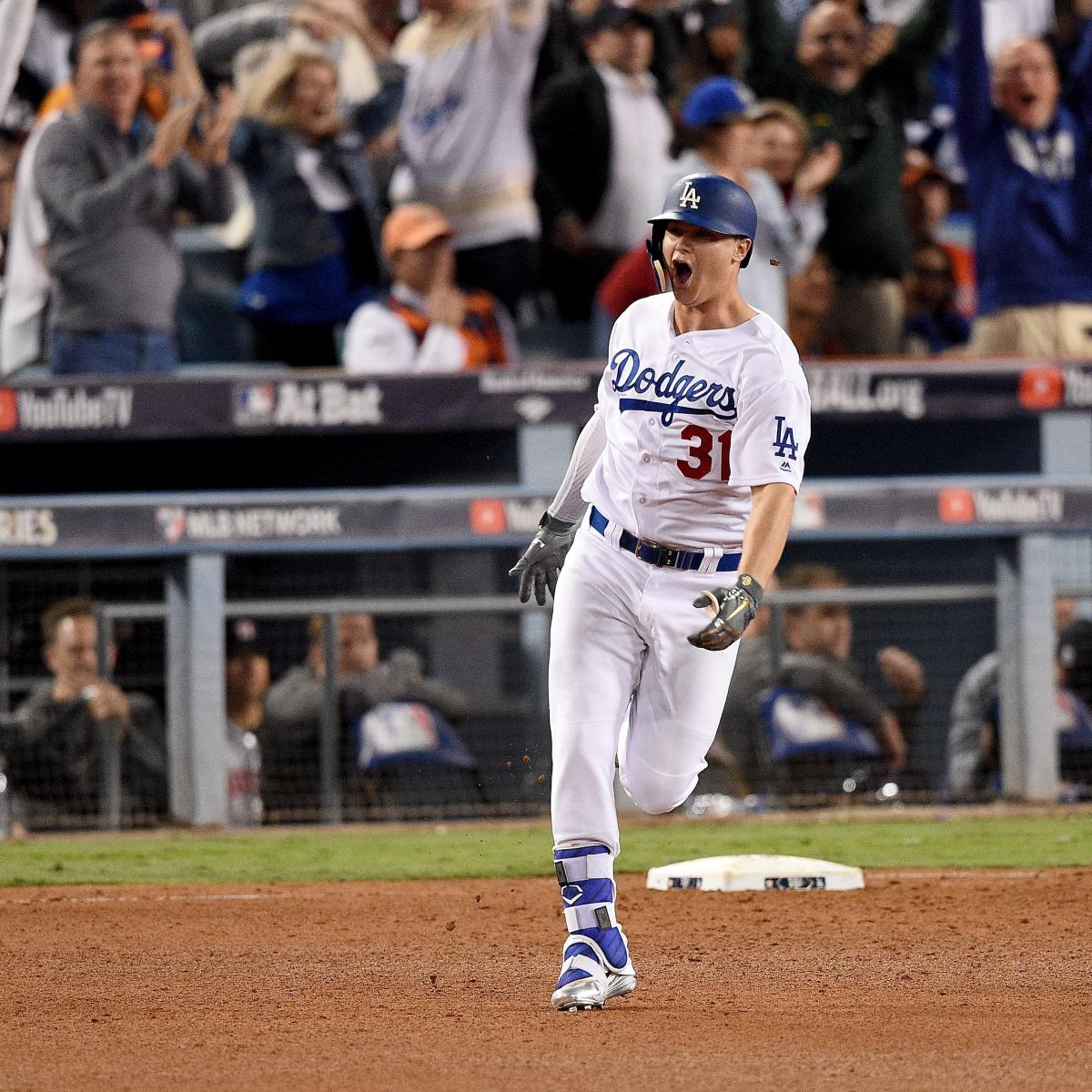 Joc Pederson Helps Dodgers Beat Astros, Force World Series ...
