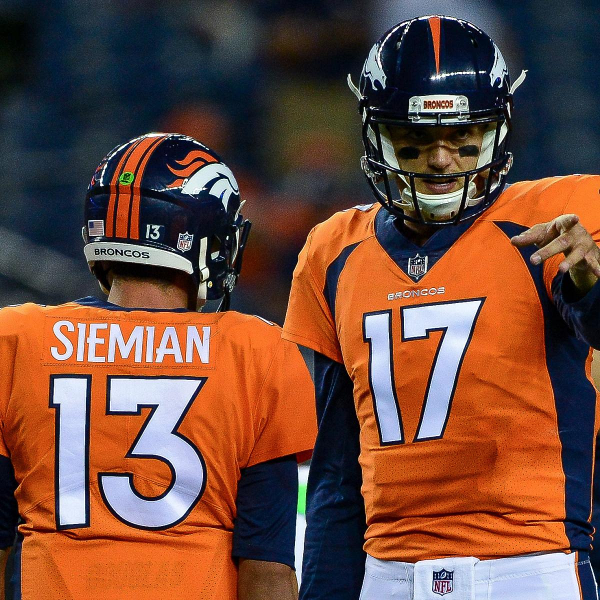 9 News Denver Quarterback: Paxton Lynch To Start Over Brock Osweiler For Broncos Vs