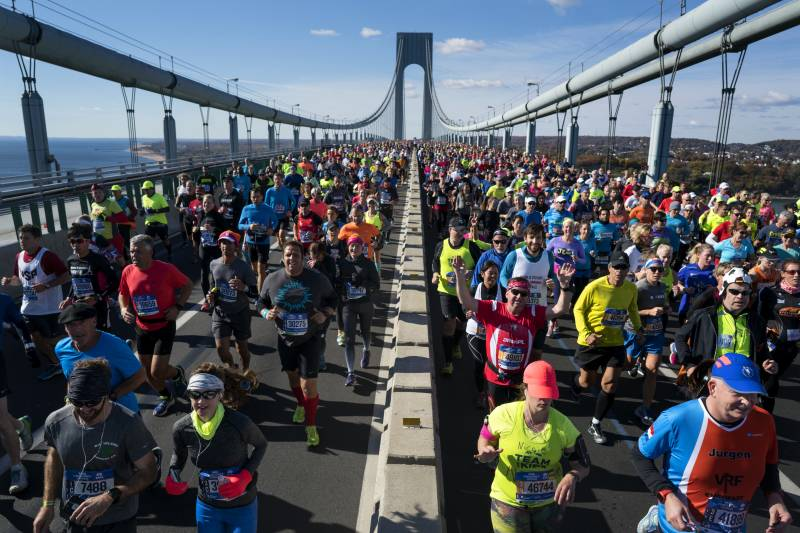Map Of New York Marathon 2017.New York Marathon 2017 Route Course Map Times Road Closures