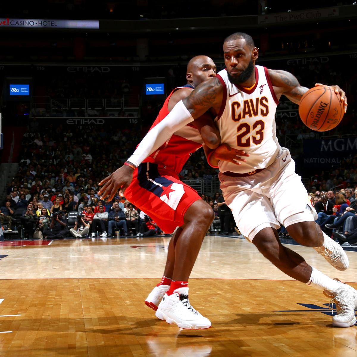 e409066eff67 LeBron James  57 Points Lead Cavaliers to Win over John Wall ...
