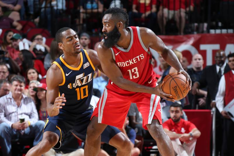 5fccf0fe2422 Twitter Explodes as James Harden Scores Career-High 56 Points vs ...