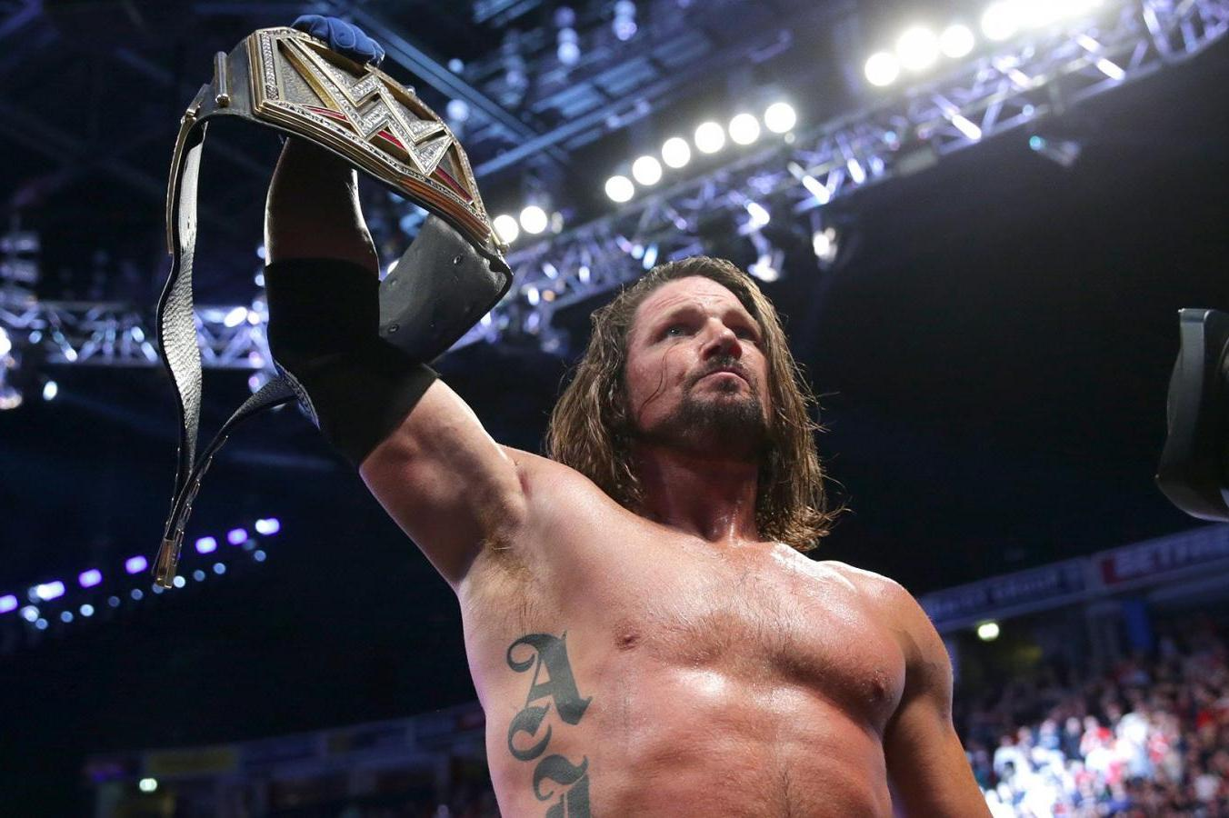 AJ Styles On Why Historic WWE Title Reign Ended On Smackdown 1