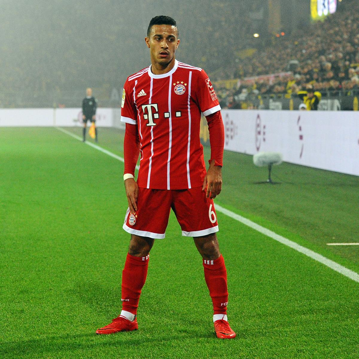"Report: Thiago Alcantara is headed to Real Madrid in ""a ...