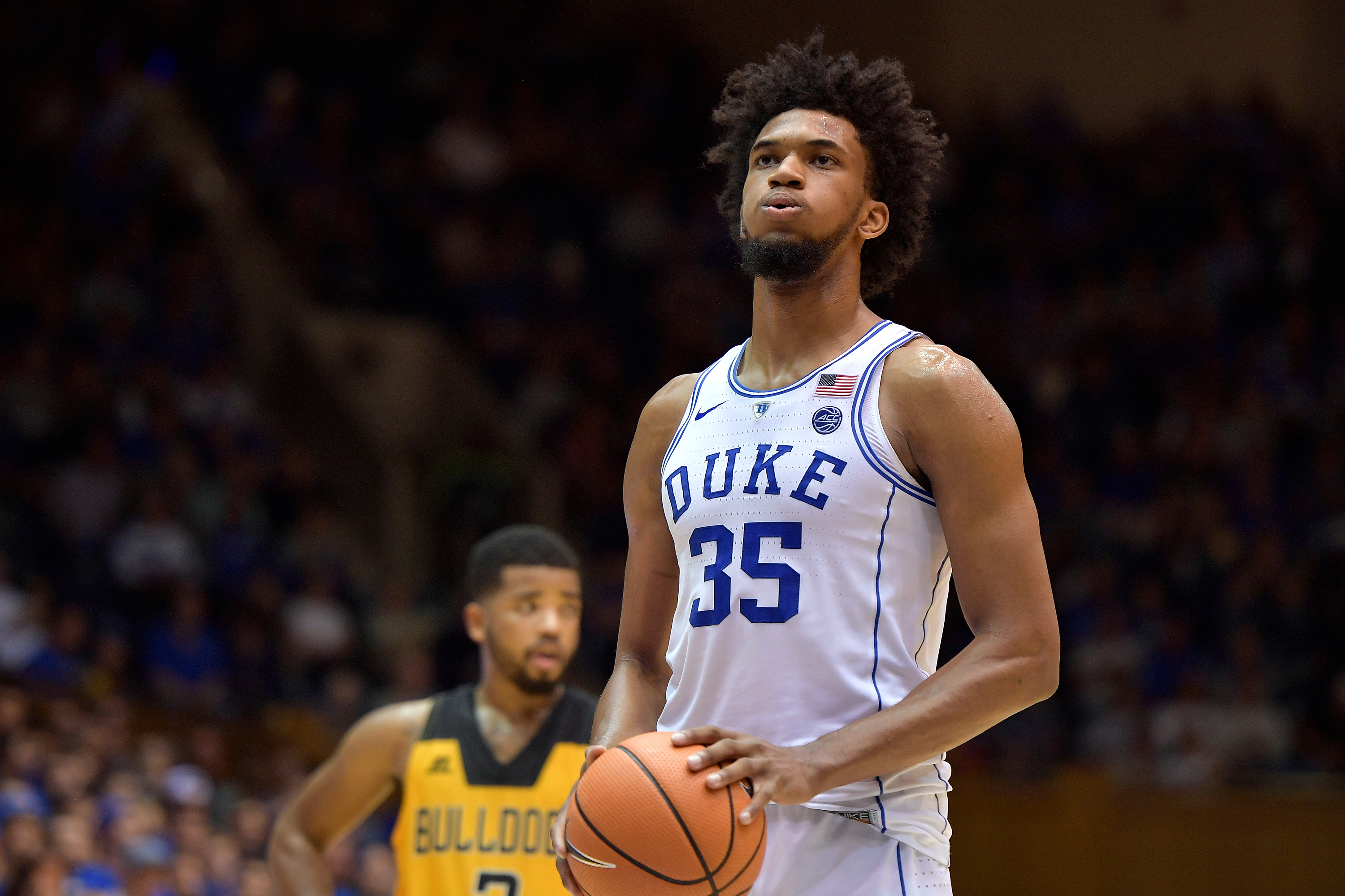 timeless design eb297 7dbb6 Marvin Bagley III Sets Duke Freshman Record with 25 Points ...