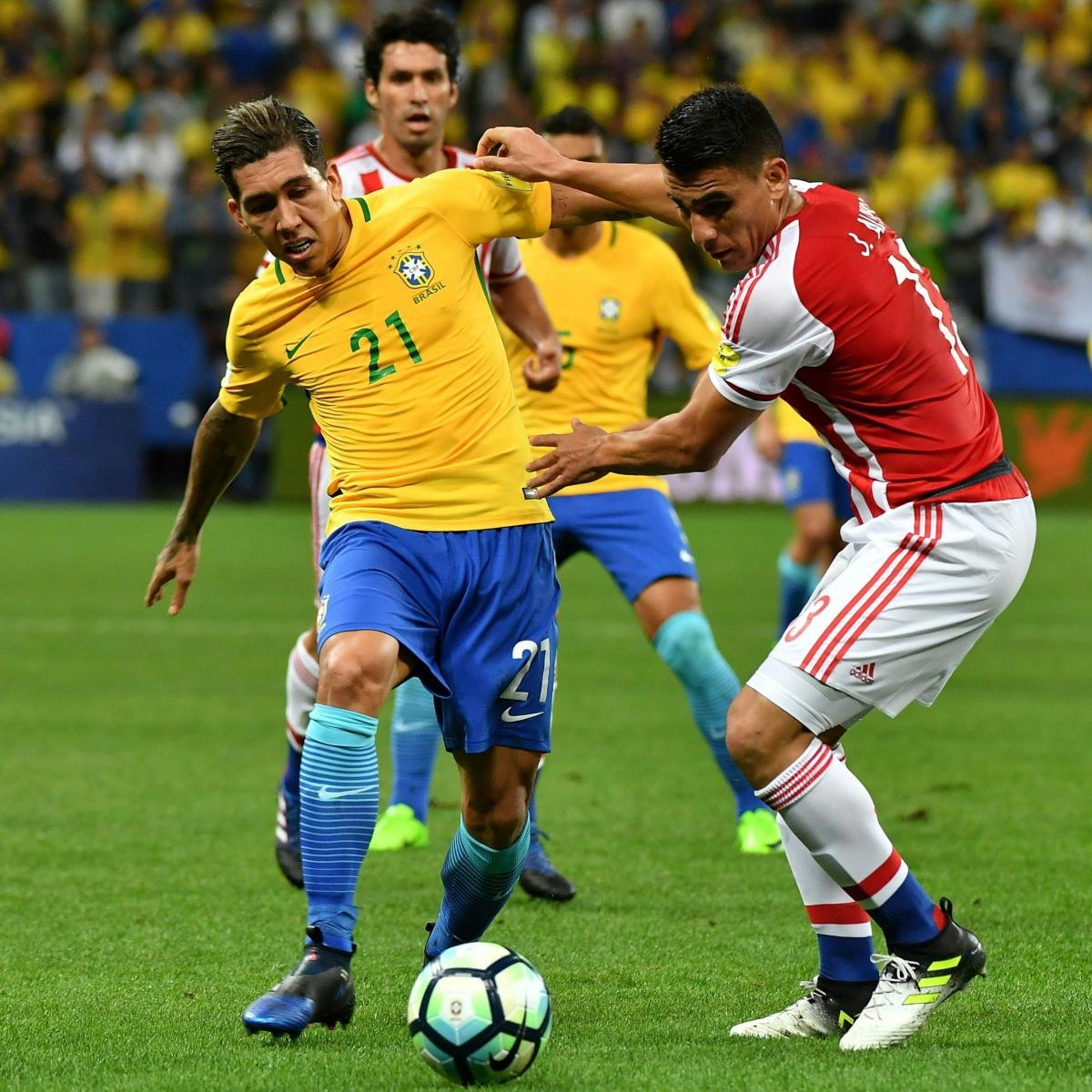 Who And Where Are Brazil Playing This Month And Who Is In: Roberto Firmino Says Playing For Brazil Is 'Similar' To