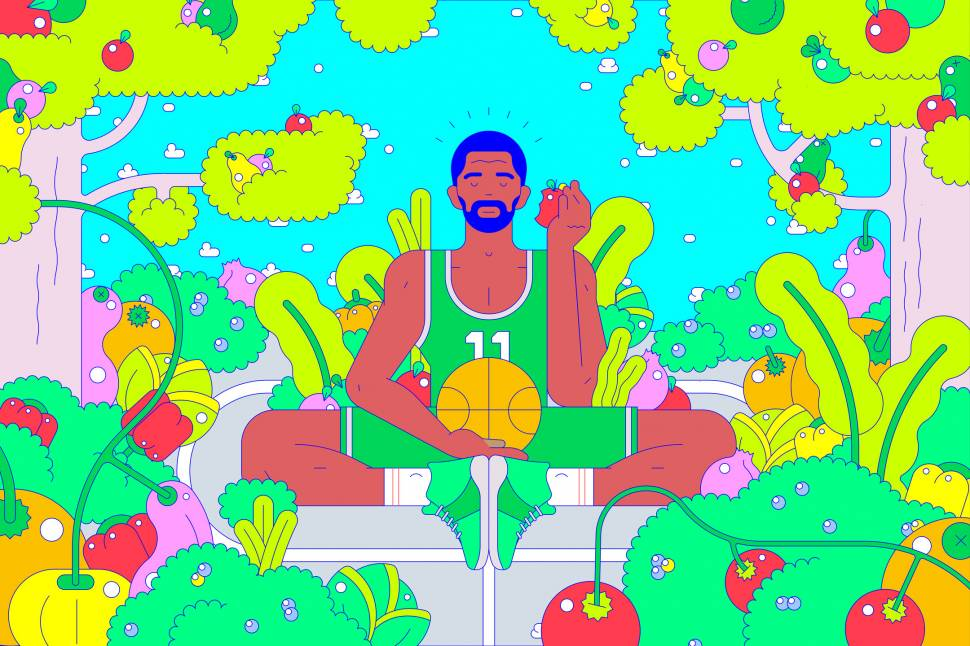 The Secret (but Healthy!) Diet Powering Kyrie and the NBA
