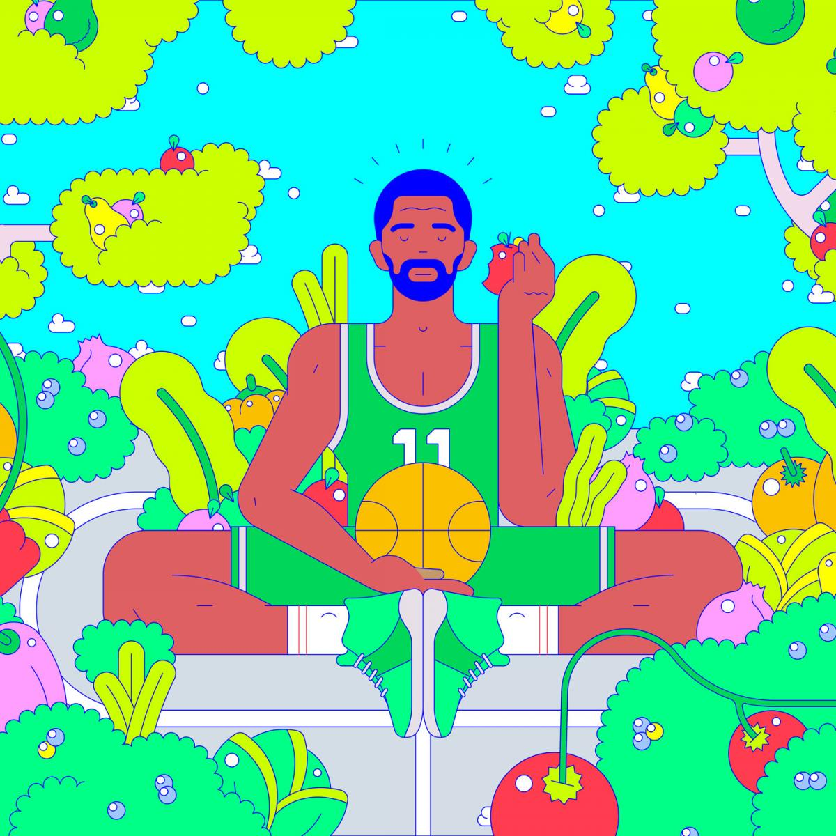 Kyrie Irving Vegan