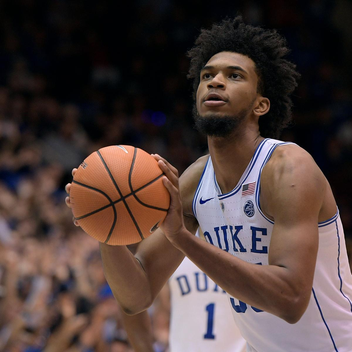 1989812d689d Marvin Bagley III Knee Injury Diagnosed as Mild Sprain