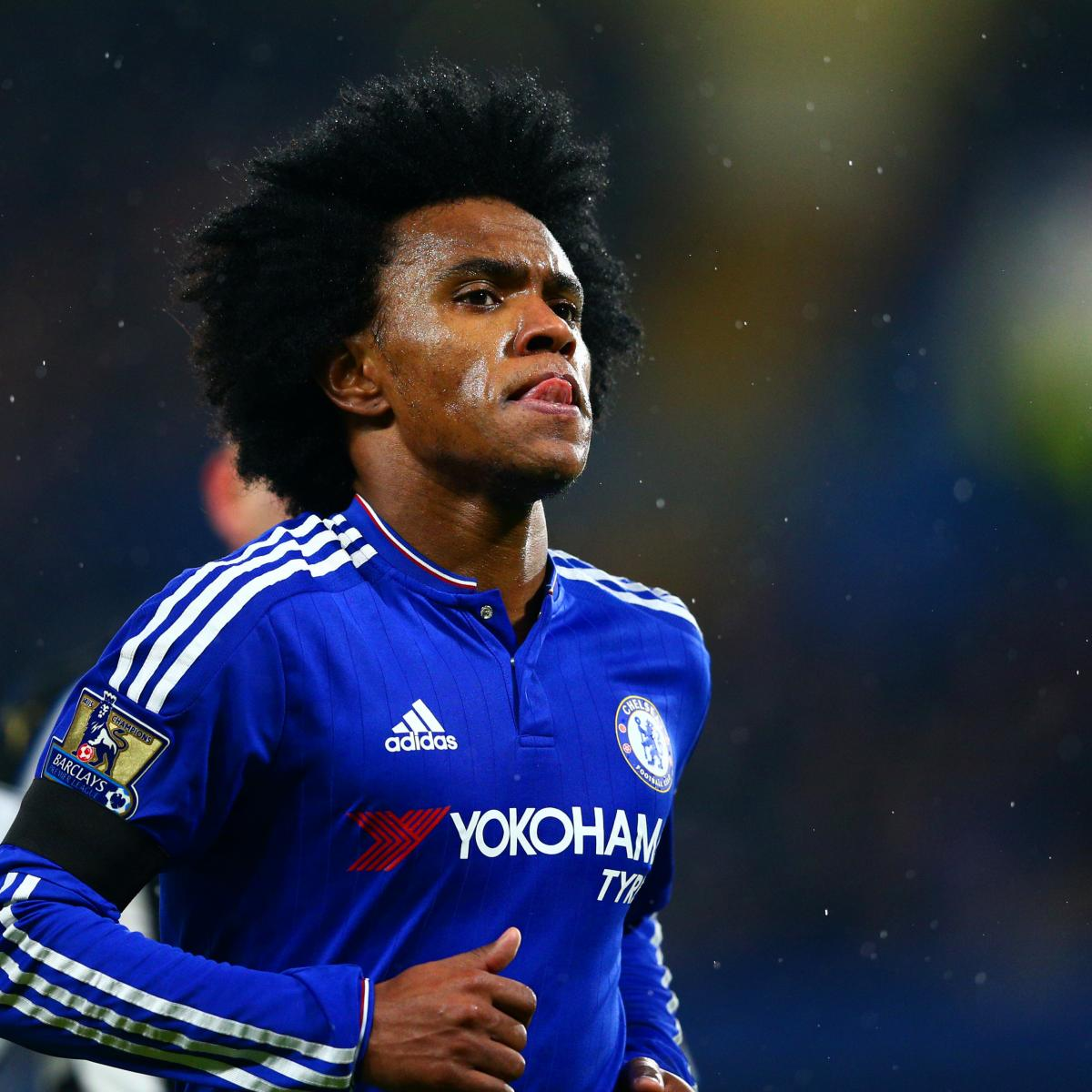 Chelsea Reportedly Eye Willian Sale To Make Way For Lucas