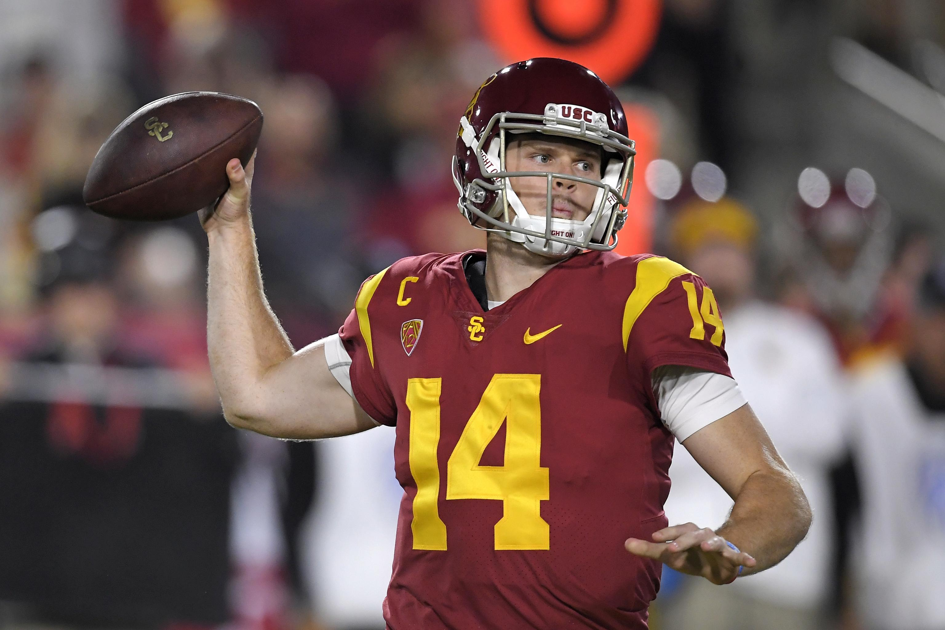 Sam Darnold Not Sure Where Report He D Stay At Usc If Browns