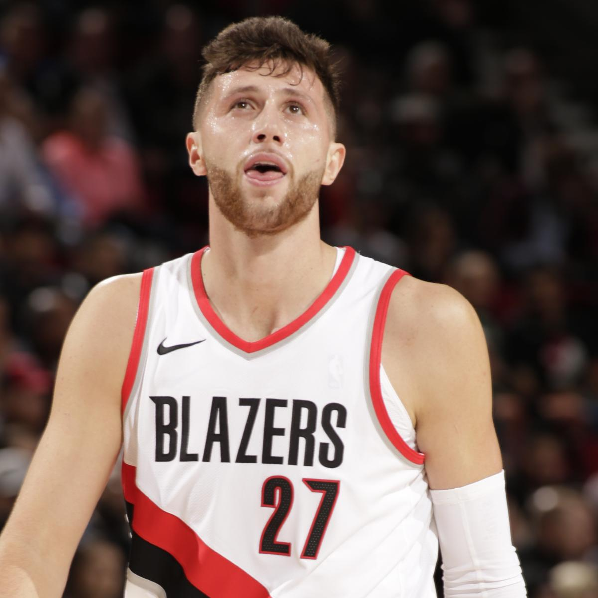 Blazers Injury Report: Jusuf Nurkic Injures Ankle Vs. Wizards; X-Rays Come Back