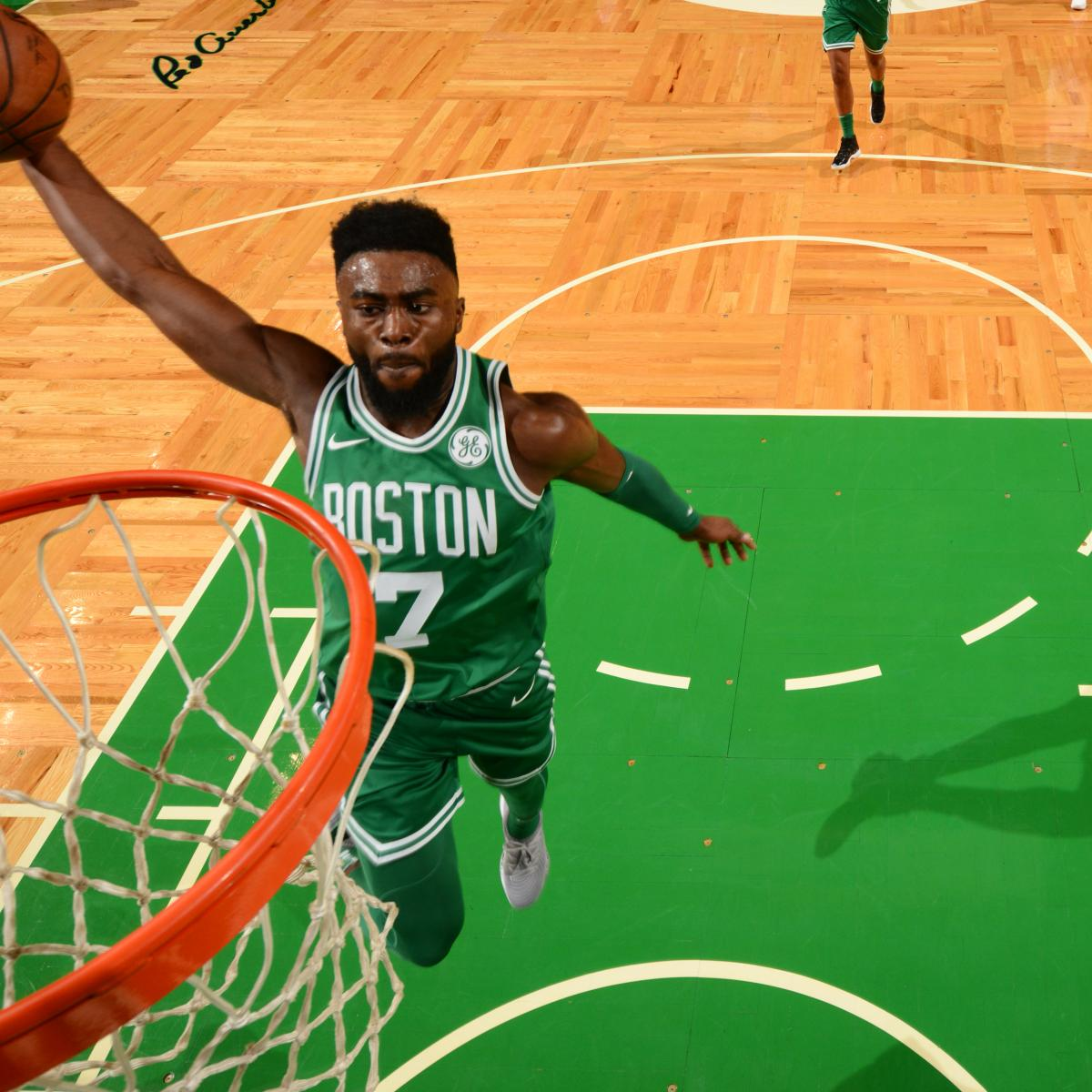 Warriors Come Out And Play Logo: Jaylen Brown Says He Played 'Inspired' Vs. Warriors After