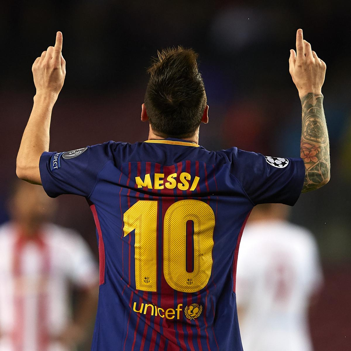 6271acfc6d8 Should the Barcelona No. 10 Shirt Be Retired When Lionel Messi Stops  Playing