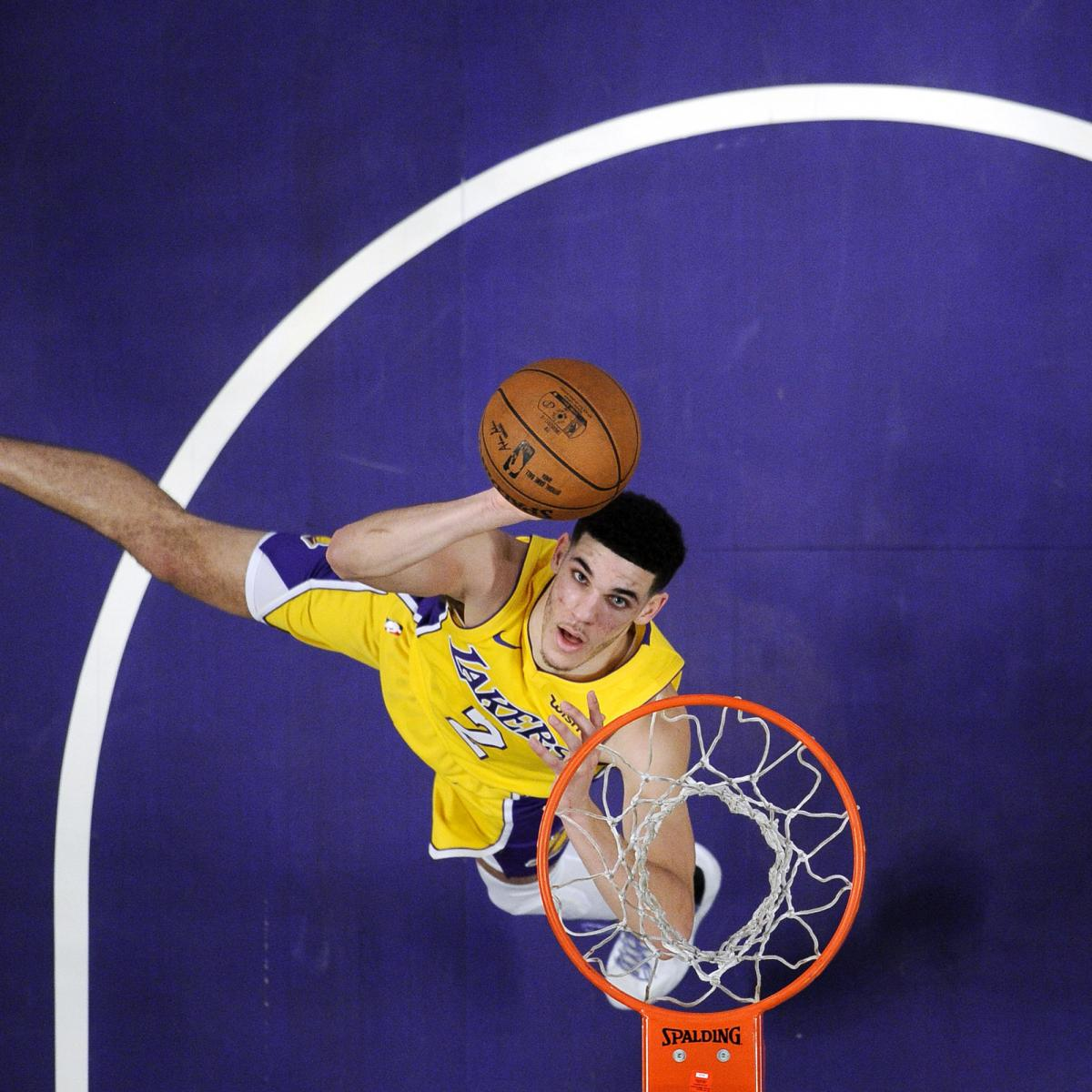 Lonzo Ball Discusses Walking Away from Scuffle in Loss vs. Suns