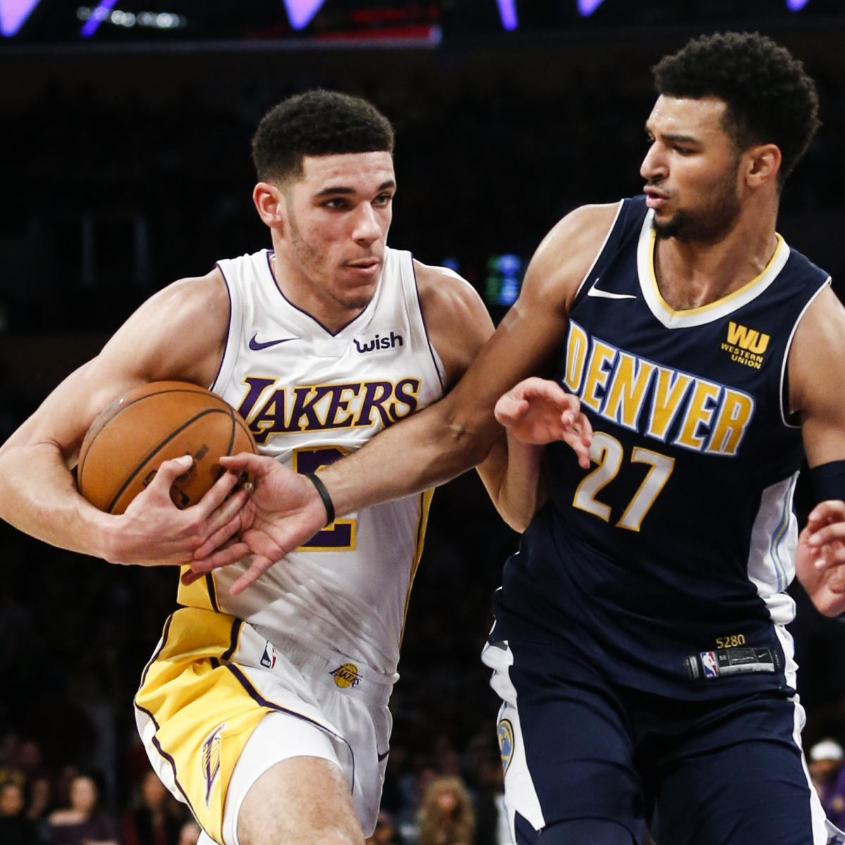 Lonzo Joins Magic Johnson As Only Lakers Rookies With