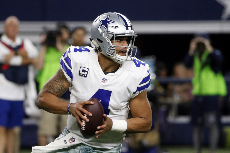 Cowboys QB Dak Prescott Suffered Injuries to Both Hands in Loss to Bears