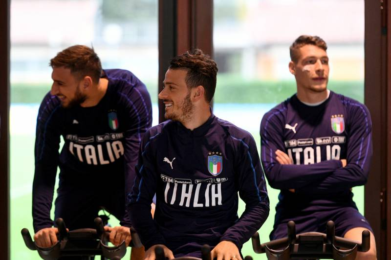 sneakers for cheap db934 ee021 Picking Italy's Squad for the 2022 World Cup | Bleacher ...