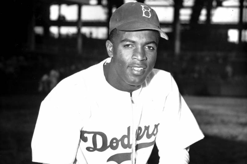 best authentic d6bdd 92bd9 Jackie Robinson Jersey from Rookie Season Sells for $2.05M ...