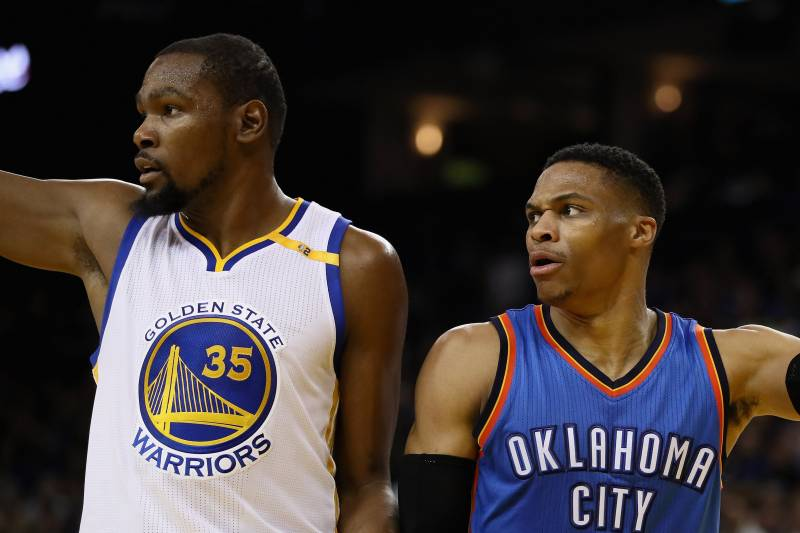 06bd0e0598a6 Kevin Durant to Play vs. Russell Westbrook