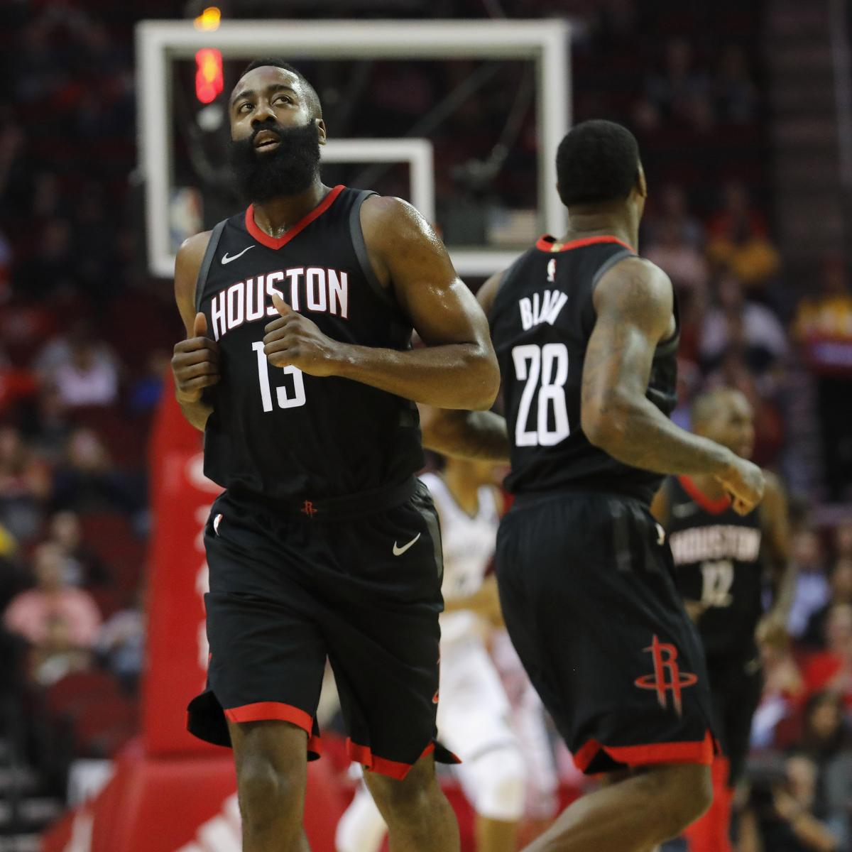 James Harden Nba Records: James Harden Sets Rockets Franchise Scoring Record With
