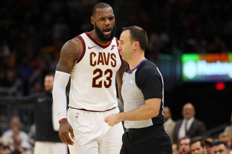 aabaeece6083 Cavs on LeBron James Ejection   You Give Him the Benefit of the Doubt