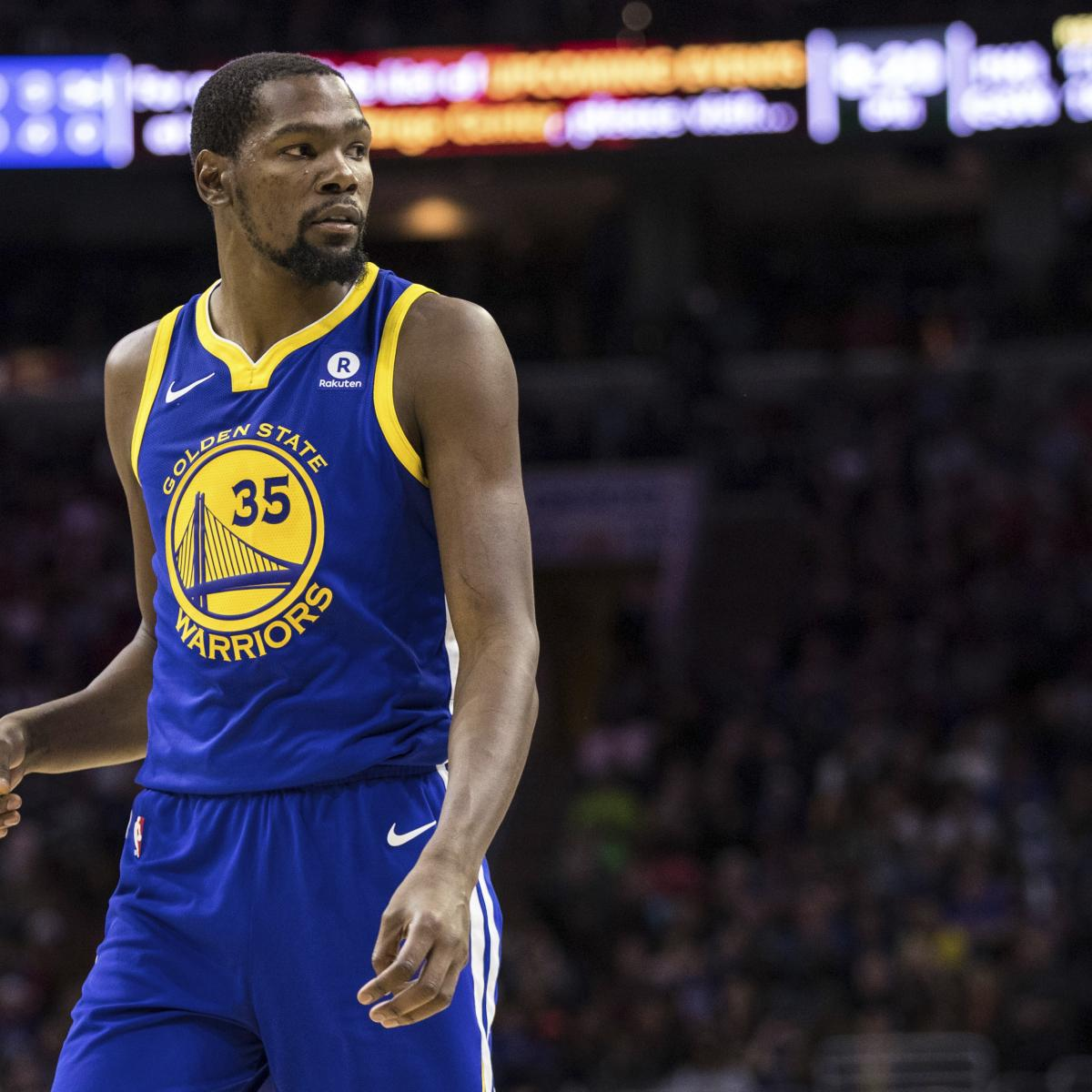 Rockets Vs Warriors Durant: Kevin Durant Ruled Out Vs. Rockets With Calf Injury