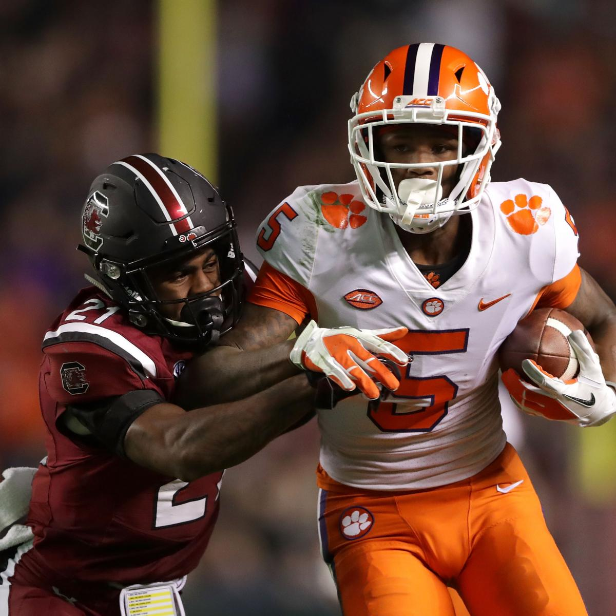 College Football Odds Week 14: Picks for Top 25 Matchups ...