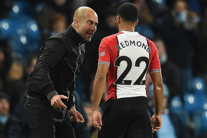 Nathan Redmond Refutes Report That Pep Guardiola Called Him