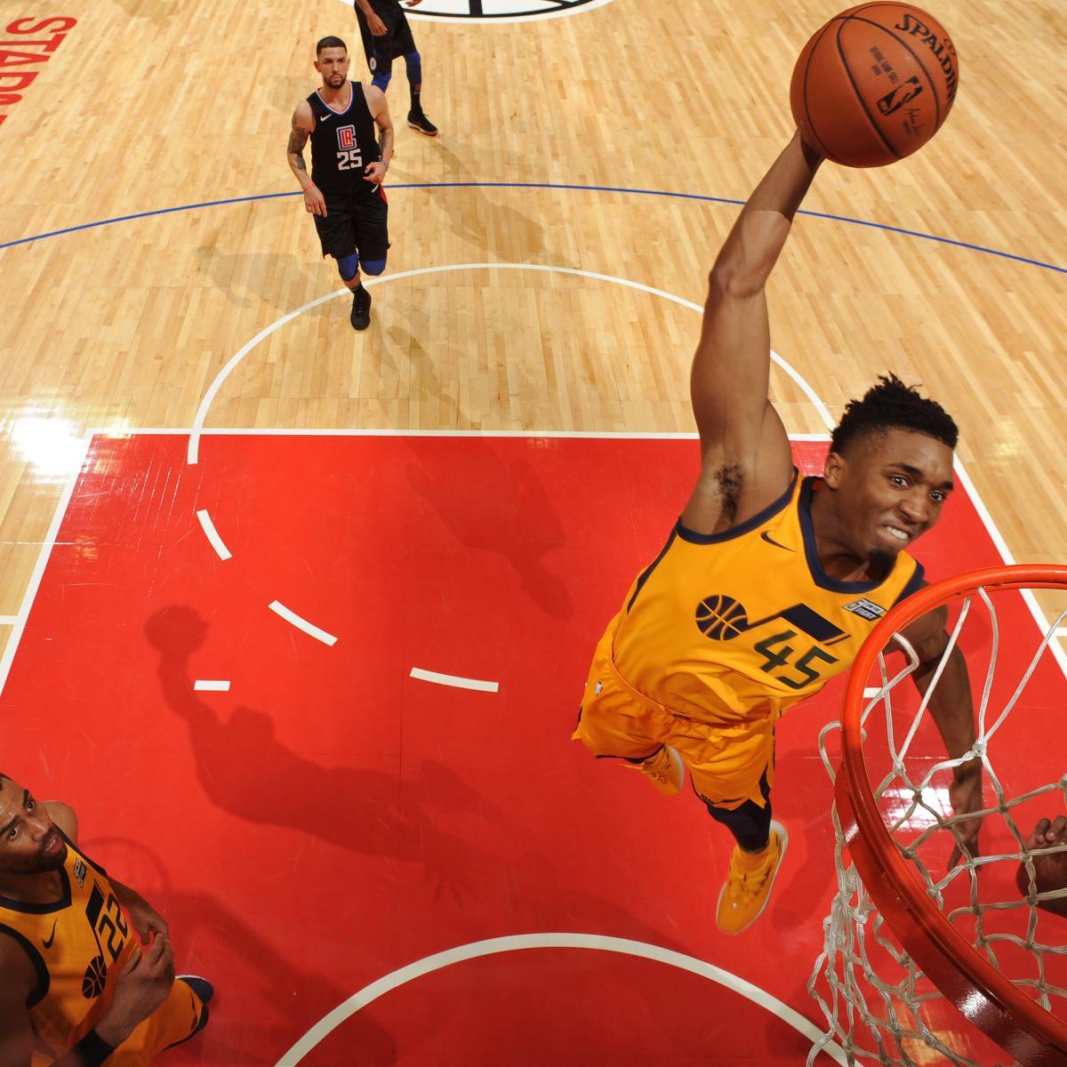 5 Nba Rookies Who Could Be Next Season S Donovan Mitchell: Jazz Guard Donovan Mitchell Sets Franchise Rookie Record