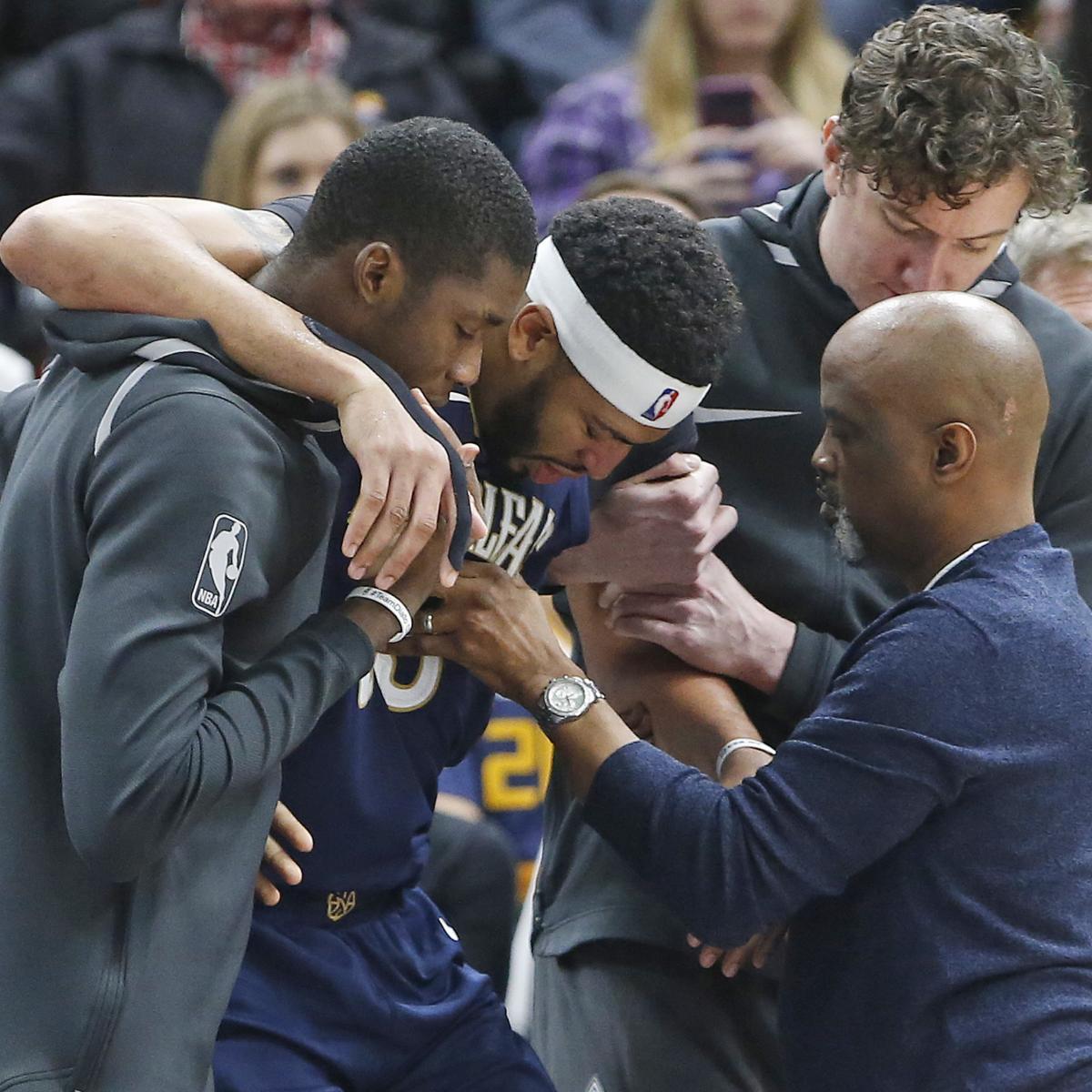 Portland Trail Blazers Injury News: Anthony Davis Ruled Out Vs. Trail Blazers With Pelvis