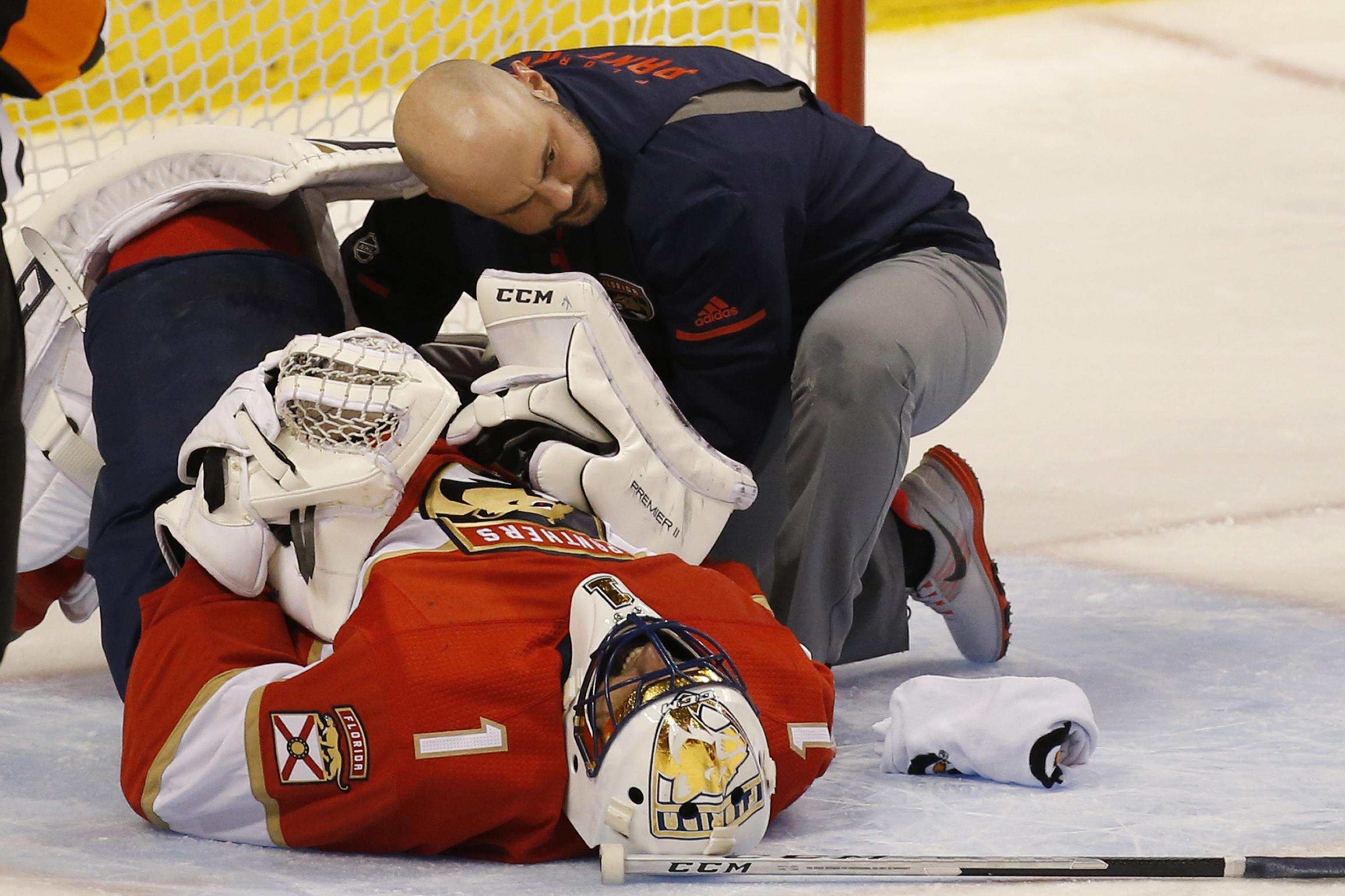 Roberto Luongo Expected To Miss Extended Time With Lower Body