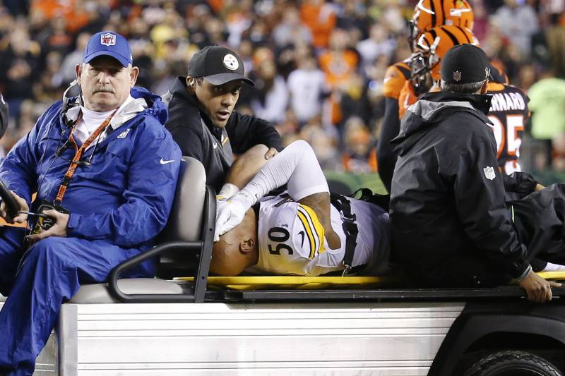 36956ece4bc Ryan Shazier Undergoes Spinal Surgery  Reportedly May Not Play ...