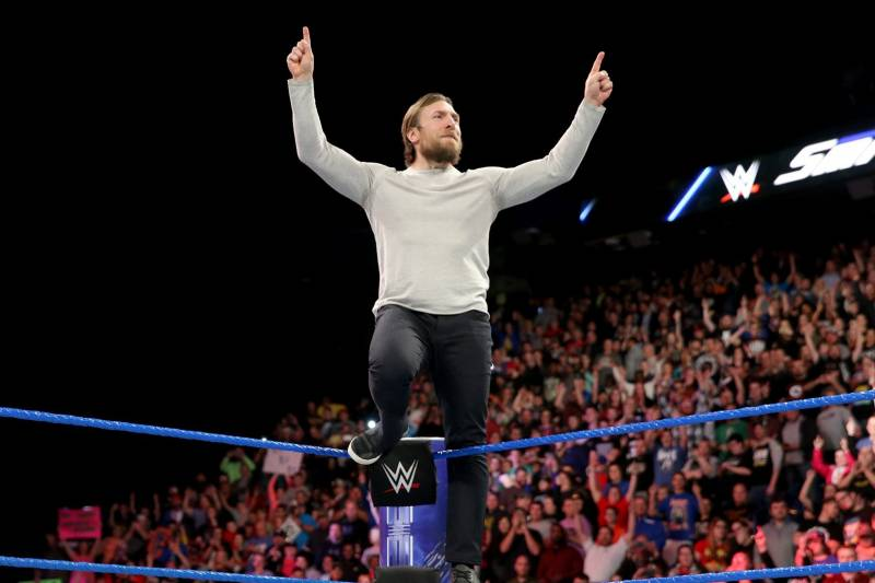 pretty nice 9ffe7 65c40 Imagining Daniel Bryan s Return to WWE Ring If He Gets Medically Cleared.  Erik Beaston  ErikBeaston Featured ColumnistInvalid Date Comments. Credit   WWE.com