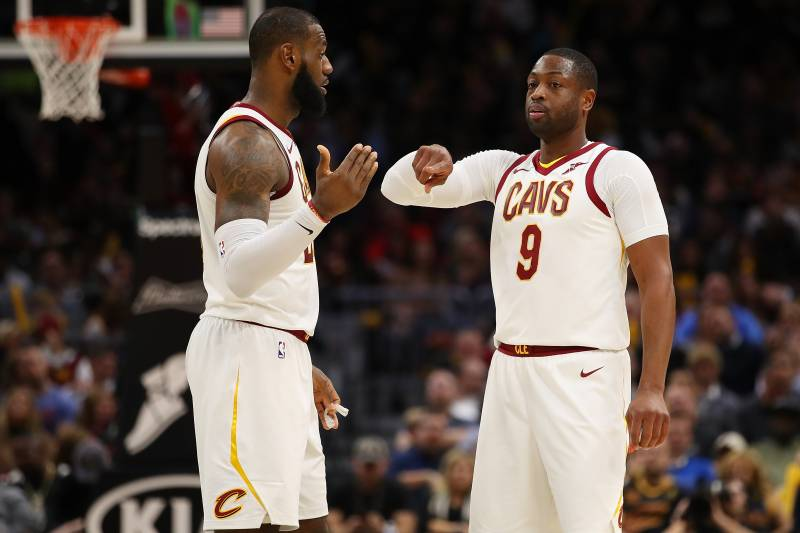 be7fd27d130f LeBron Says Dwyane Wade Is Sixth Man of the Year. Let s Examine ...