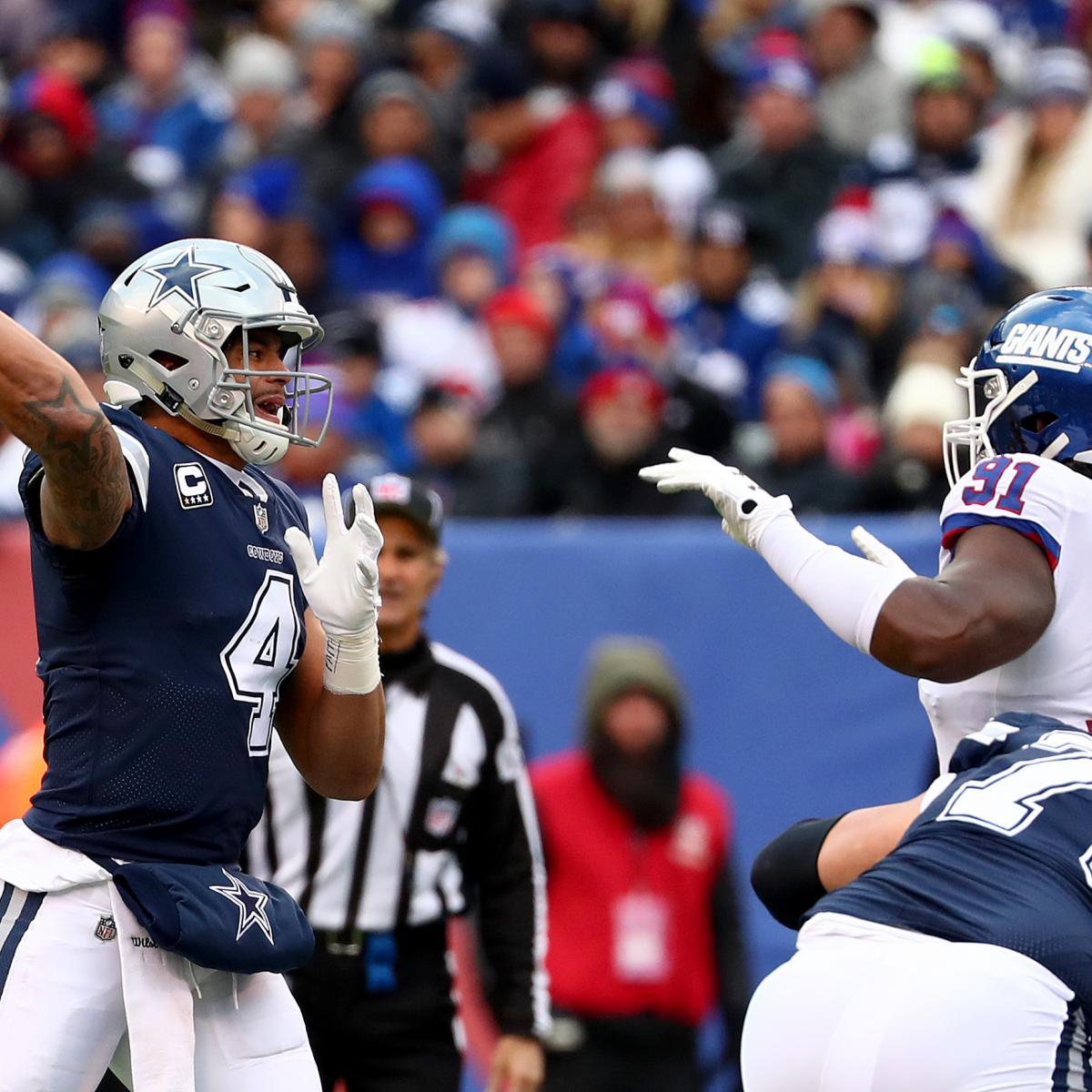 NFL Scores Week 14: AFC, NFC Playoff Picture, Results And