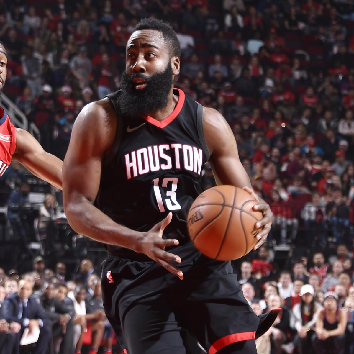 James Harden Quadruple Team: James Harden, Rockets Beat Pelicans Without Anthony Davis